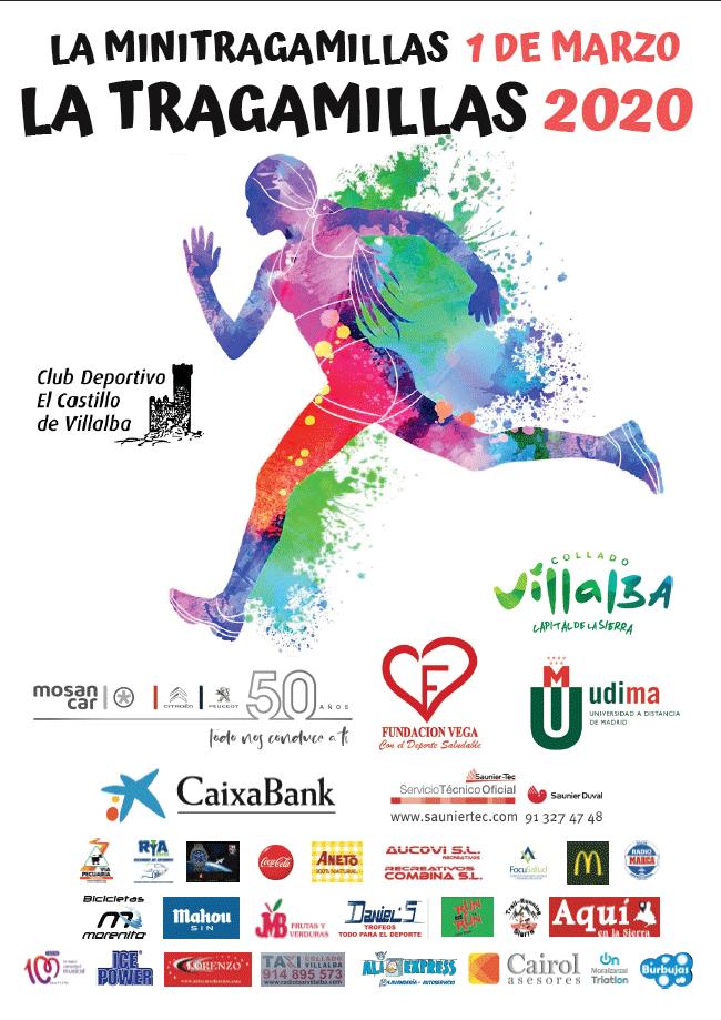 La tragamillas 2020, XIII Media Maratón de Collado Villalba