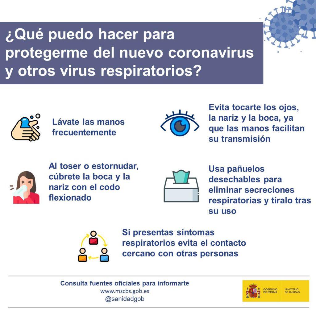 RyA Sierra te cuente como protegerte del corona virus